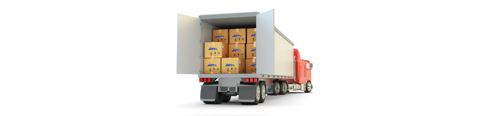Freight transportation, packages shipment